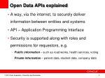 open data apis explained