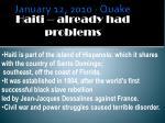 january 12 2010 quake