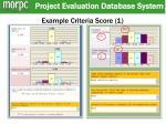 example criteria score 1