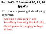unit 1 ch 2 review 20 21 26 pg 45