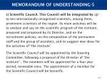 memorandum of understanding 5