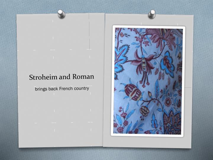 Stroheim and Roman