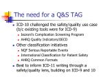 the need for a q s tag
