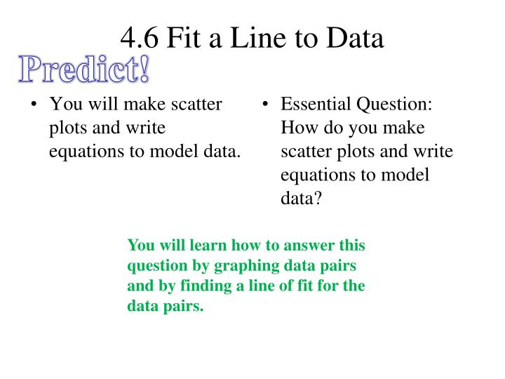 4 6 fit a line to data n.