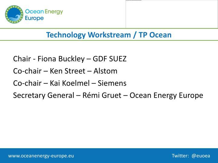 Technology workstream tp ocean