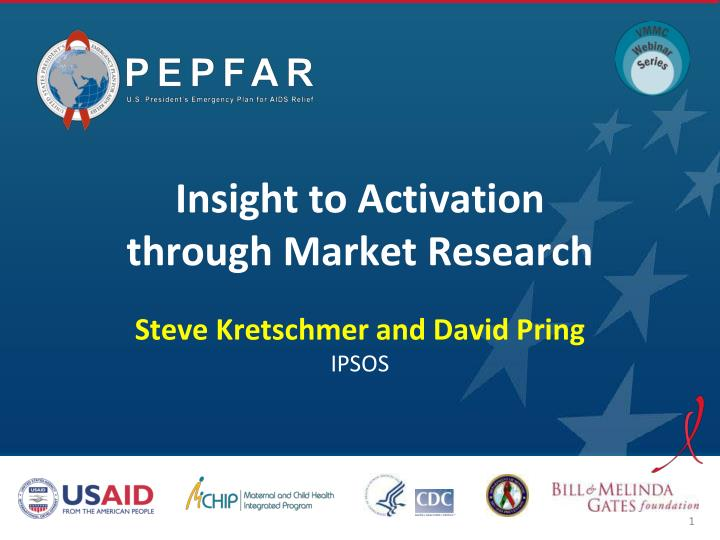 insight to activation through market research n.