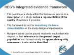 reg s integrated evidence framework1