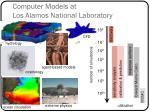 computer models at los alamos national laboratory