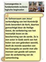 convergenties in fundamentele ecclesio logische beginselen3