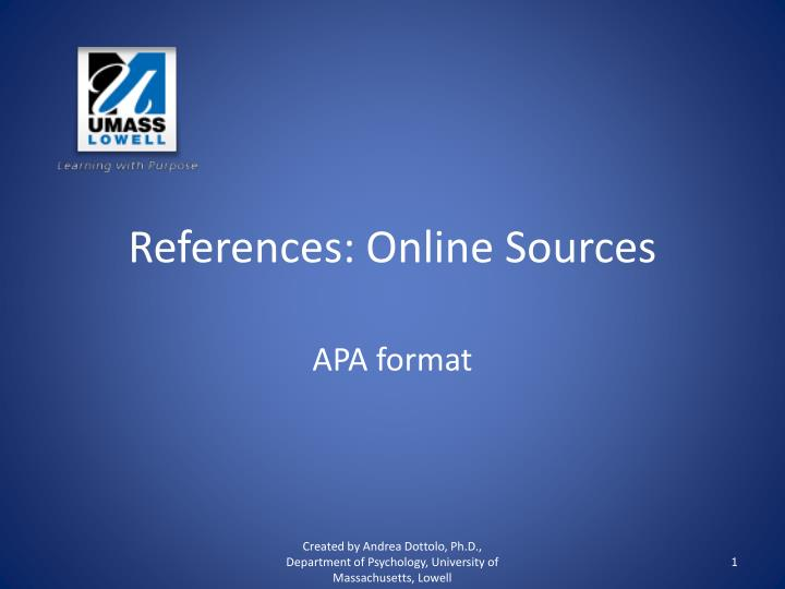 apa format citing sources