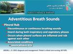 adventitious breath sounds4