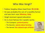 who was vergil