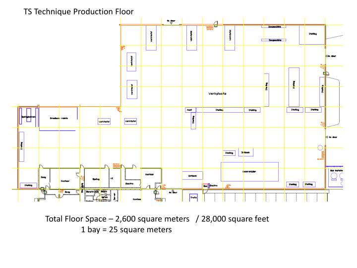 ppt total floor space 2 600 square meters 28 000 square feet 1 bay 25 square meters. Black Bedroom Furniture Sets. Home Design Ideas