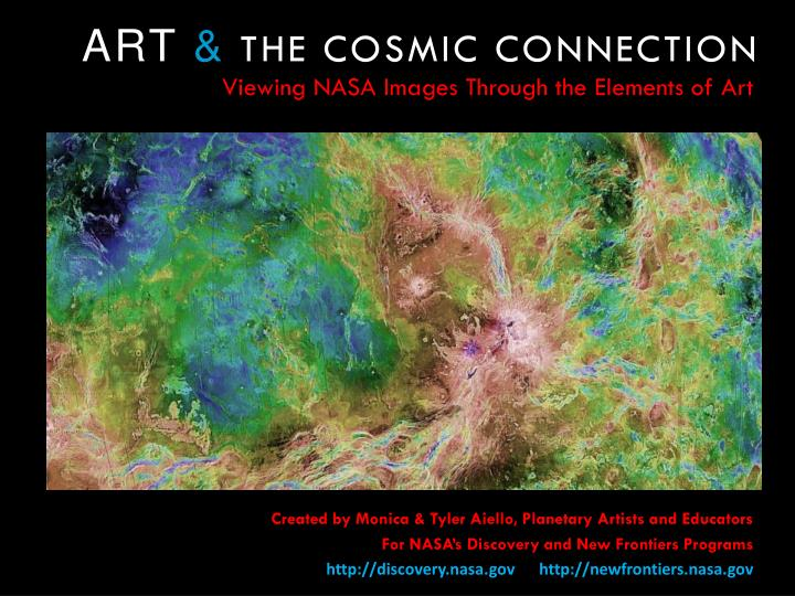 art the cosmic connection n.