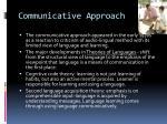 communicative approach1