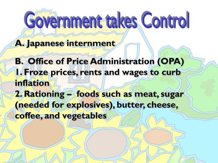 A.Japanese internment