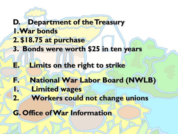 F. National War Labor Board (NWLB)