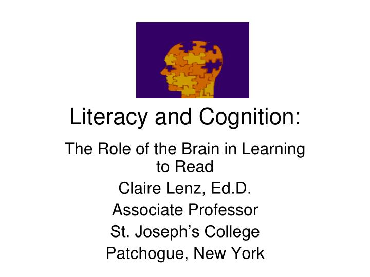 literacy and cognition