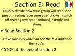 section 2 read