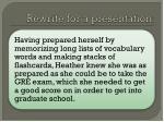 rewrite for a presentation