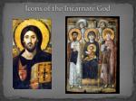 icons of the incarnate god