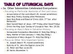table of liturgical days2