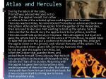 atlas and hercules
