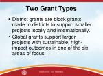 two grant types