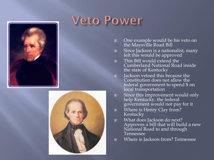 Veto Power