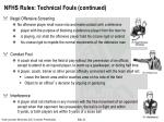 nfhs rules technical fouls continued1
