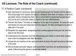 us lacrosse the role of the coach continued