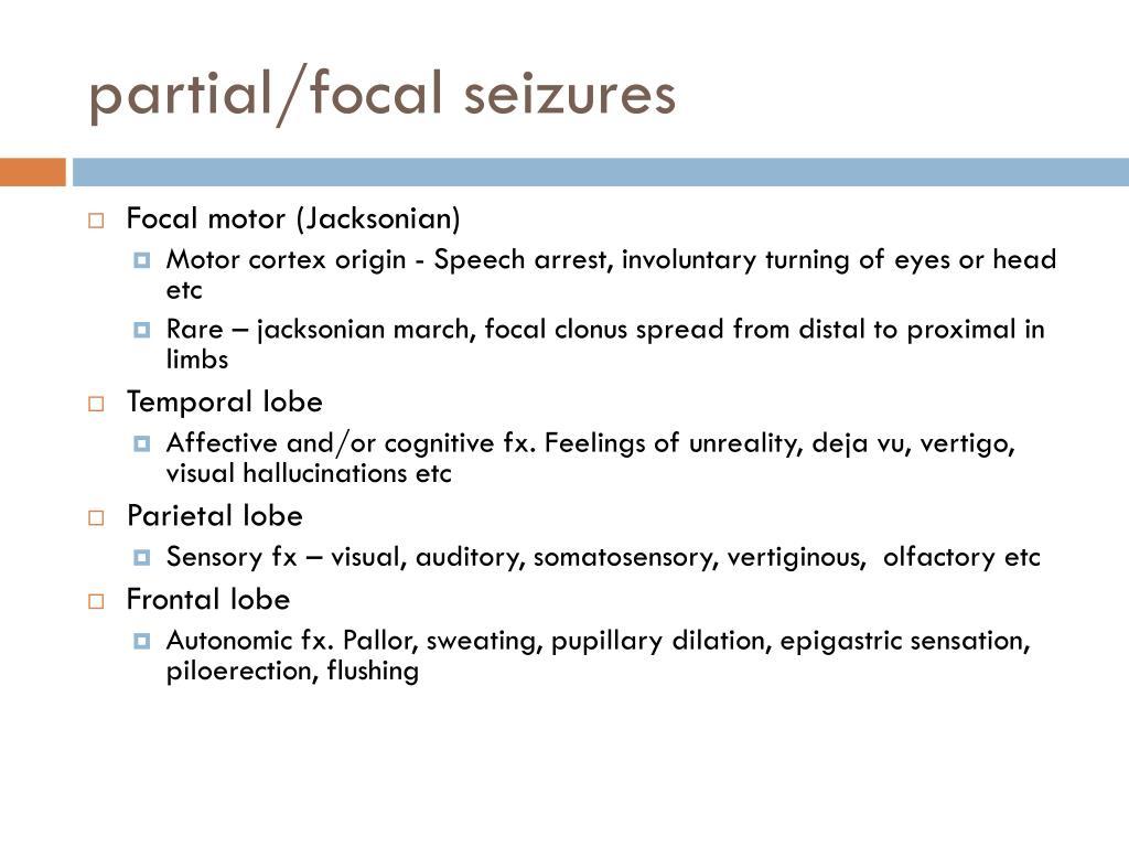 PPT - Epilepsy & Seizures PowerPoint Presentation - ID:2269686