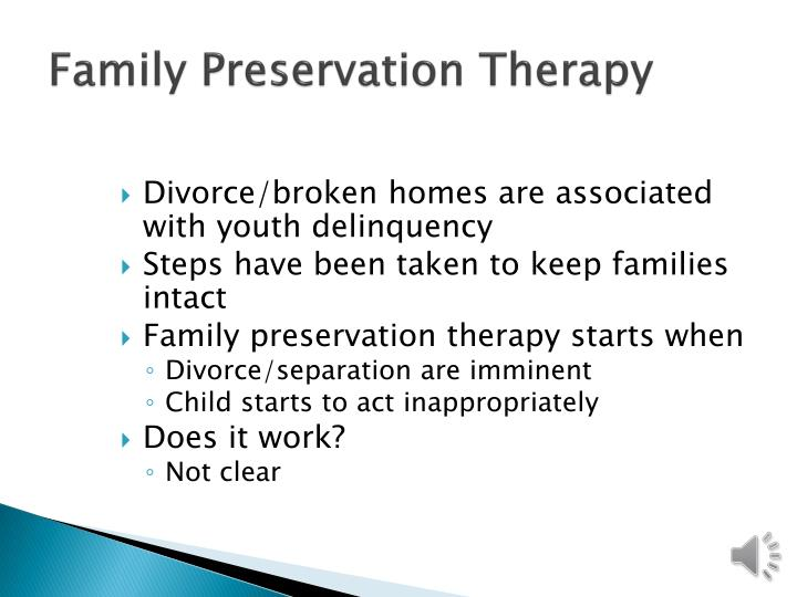 Family Preservation Therapy