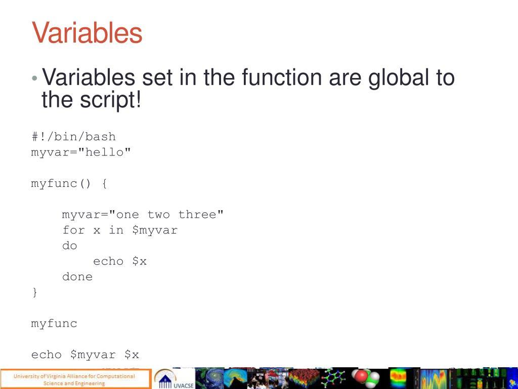PPT - Basic Bash Scripting PowerPoint Presentation - ID:2269923