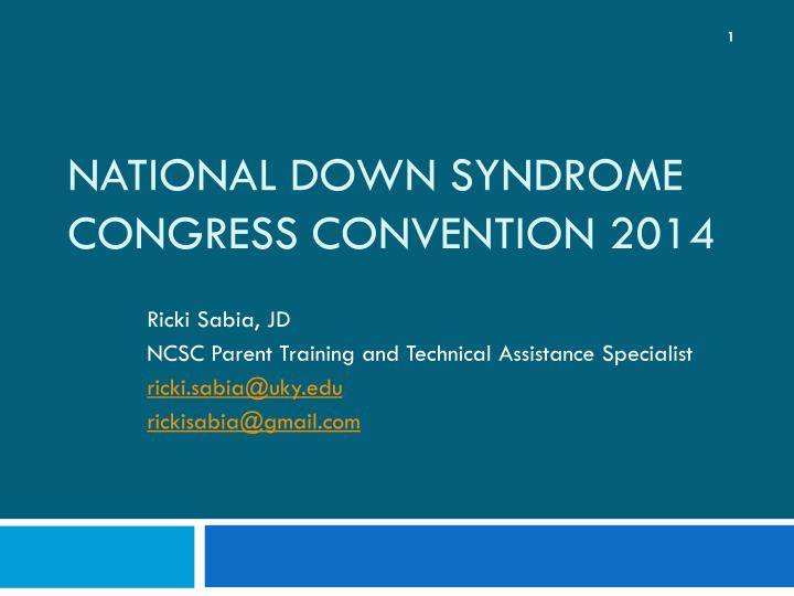 national down syndrome congress convention 2014 n.