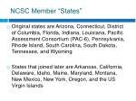 ncsc member states