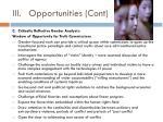iii opportunities cont1