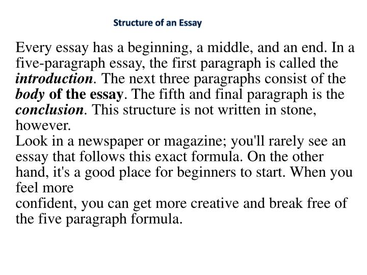 does the sat essay have to be 5 paragraphs Sat essay tips: 15 ways to improve your score the sat essay prompt does mention a using a basic four- to five-paragraph essay structure will both keep you.