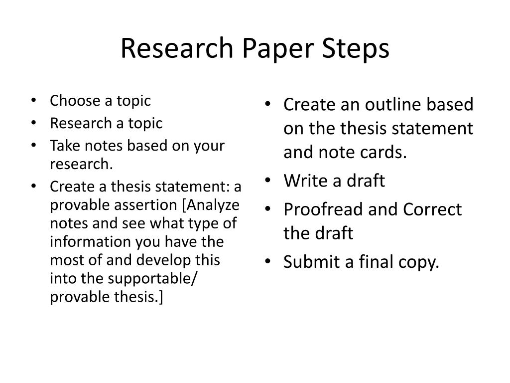 How to Write a Research Paper: 10 Steps + Resources | blogger.com