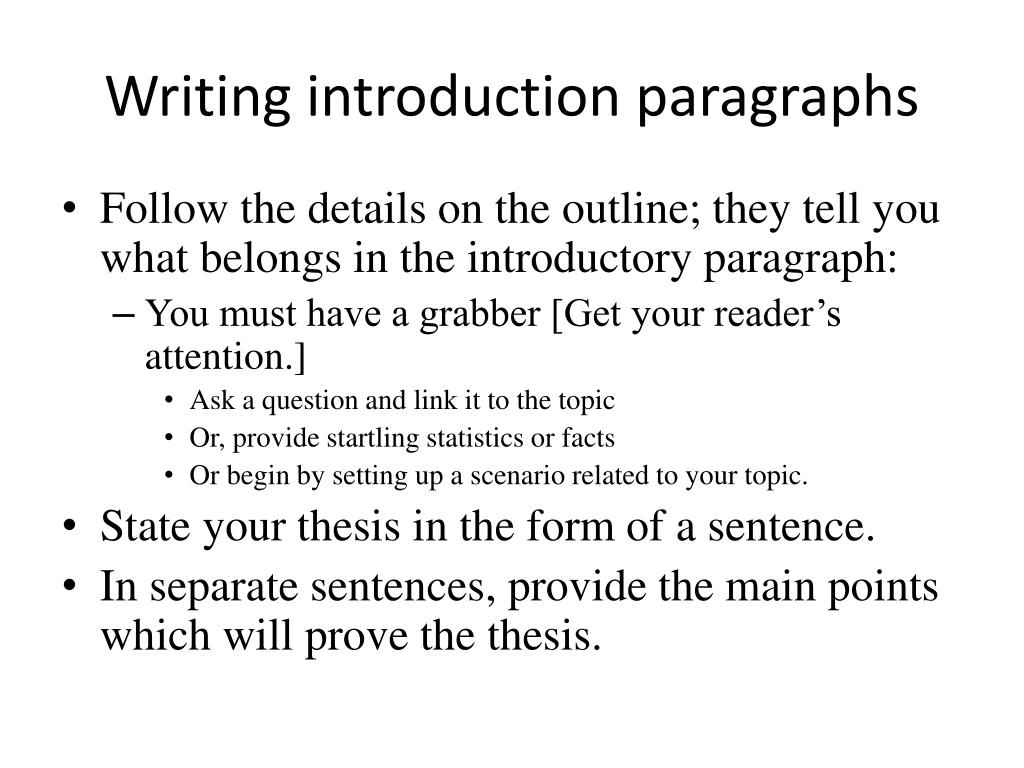 ppt  writing the research paper powerpoint presentation