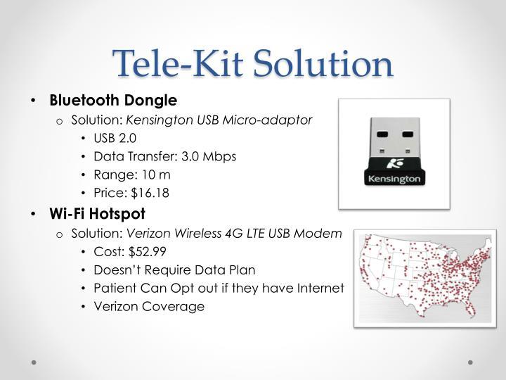 Tele-Kit Solution