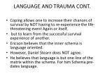 language and trauma cont