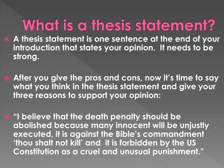 cruel and unusual punishment essay Get an answer for 'what would be a good thesis statement for an essay discussing capital punishment (the death penalty)' and find homework help for other essay.