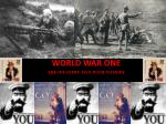 world war one the infantry man with no hope