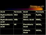 strong acids1