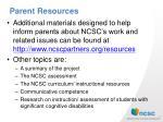 parent resources1