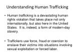 understanding human trafficking