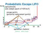 probabilistic escape lifo4