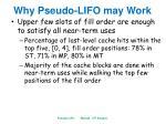 why pseudo lifo may work2