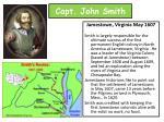 capt john smith